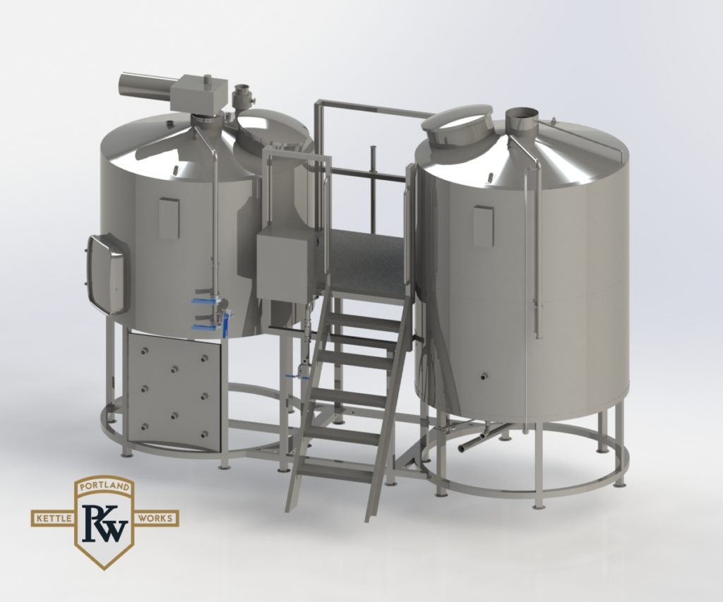PKW Brewhouse 3D