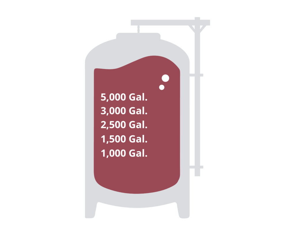Variable Capacity Wine Fermenters